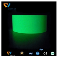 fashional Glow in the dark vinyl/luminescent vinyl film/photoluminescent film