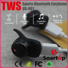 3 sets caps 10m distance bluetooth 4.2 mini wireless earbuds
