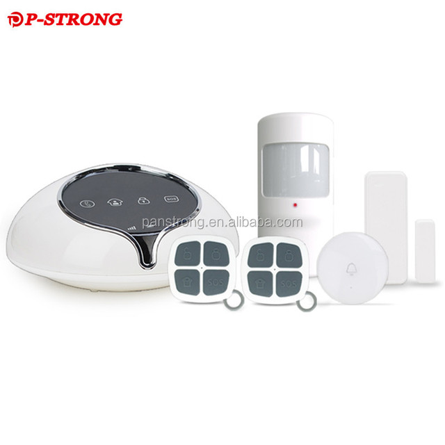 2017 GSM Wired/Wireles Metal Security Alarm Detector System