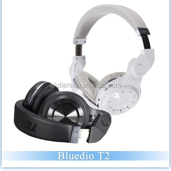 Factory Wholesale Bluedio T2 Headset Foldable Style Bluetooth V4.1 EDR Headphone Wireless Stereo Headset For IOS Android