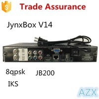 full hd 1080p dvb s2 digital satellite receiver jb200 for 8psk channels JynxBox Ultra HD V14