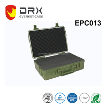 ISO9001/ROHS/REACH IP68 army green Waterproof Anti-shock Hard safty military Plastic equipment case