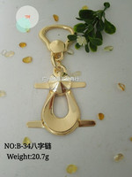 Hot style Metal zinc alloy decorative hardware for handbags