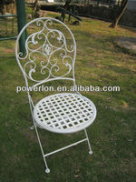 new style for canton fair metal folding chairs/Garden Chair/Bistro Chair