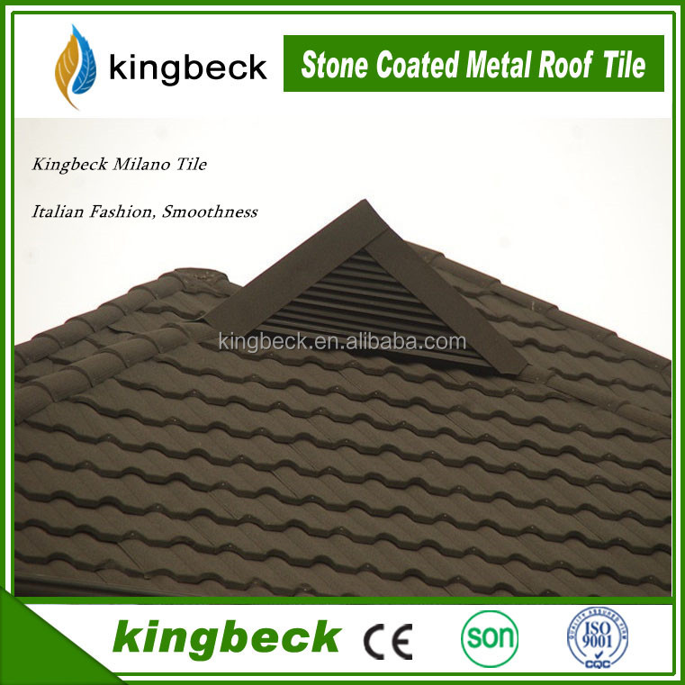 Kingbeck Basalt KBM 01 Steel Shingle roof Color Roof Tile Price