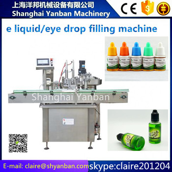 YB-Y2 Small bottle 10-30ml eye drop / e-liquid filling machine