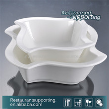 Hot Sale Unique Shape Ceramic Salad Bowl