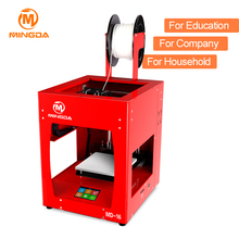 1.75 mm ABS Filament High Quality MINGDA FDM 3D Printer Large LCD Touch <strong>Screen</strong> Red/Blue/Yellow Frame 3D Metal Printer for Sale
