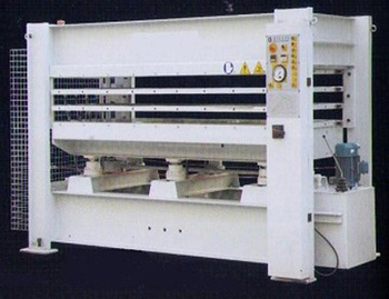 LAMINATING HOT PRESS BY214x8/10(3)HR-A1 with Total pressure 1000KN