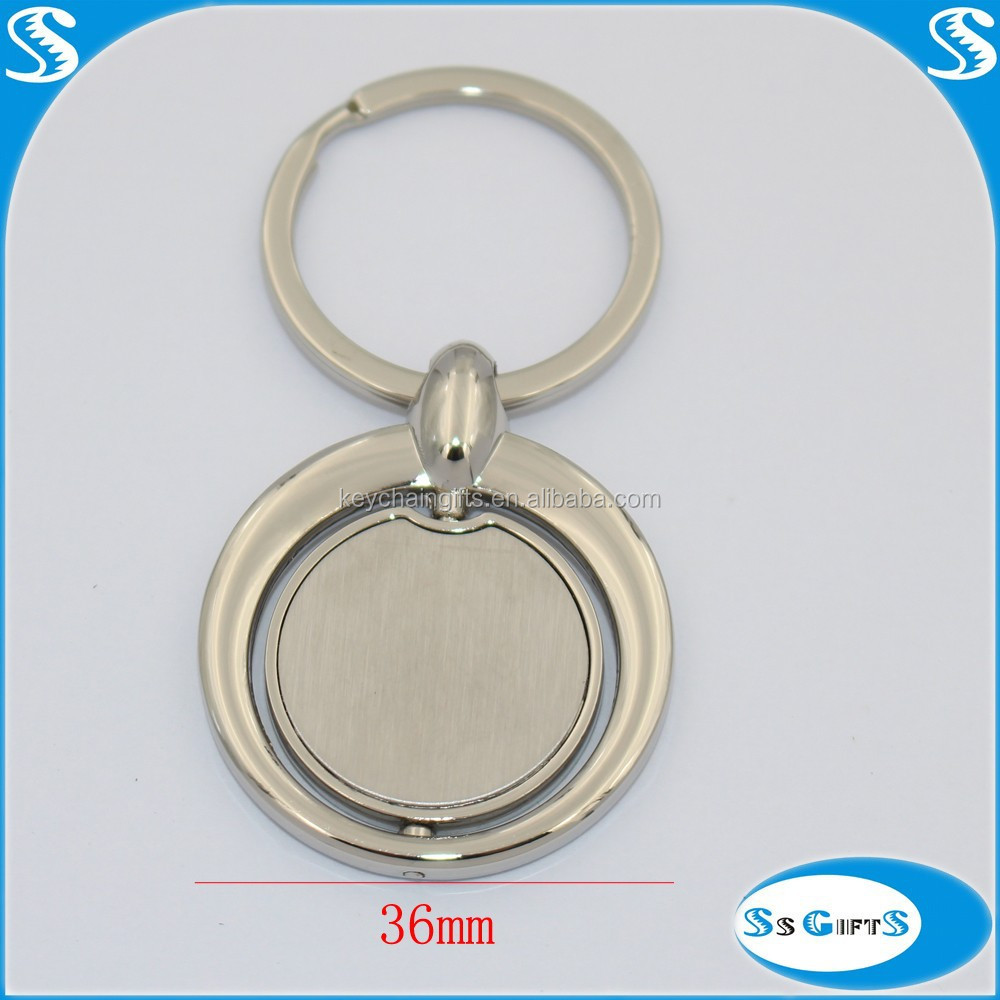 Blank spiral key chain wholesaler from zhongshan market