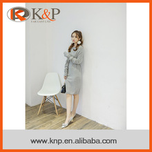 2016 fashion design cashmere sweater women one piece dress latest