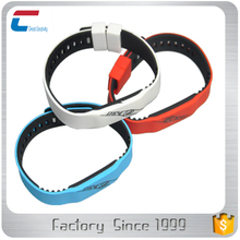 Access control waterproof NFC bracelet custom rfid silicone wristband