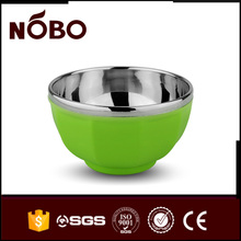 Promotion stainless steel thermal serving rice bowl with lid