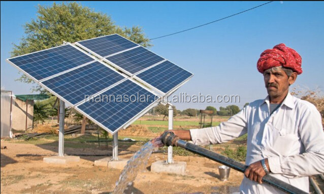 Solar pumps link electricity access efforts & irrigation needs in rural India