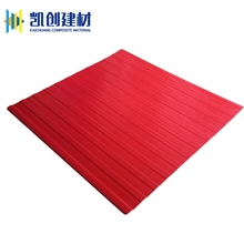 Best selling building materials colour coated pvc corrugated soundproof roofing sheet tile.