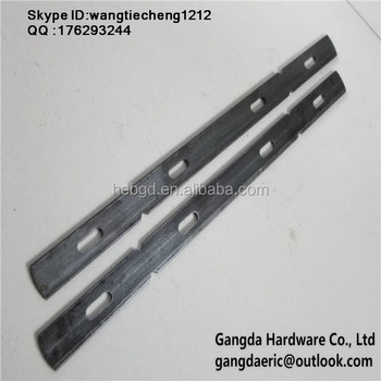 x flat wall tie for steel plywood form system
