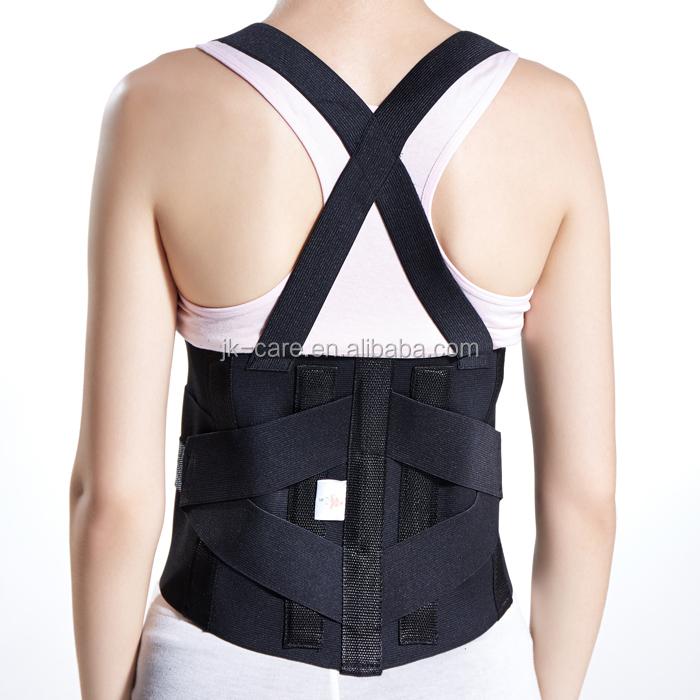 respirant réglable bas du dos soutien lombaire taille tondeuse ceinture ceinture orthopédique pour les maux de dos