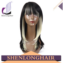 China wig making supplies cheap grey lace front wig with baby hair