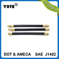 YUTE new product SAE J1402 3/8 inch isuzu air brake hose with assembly