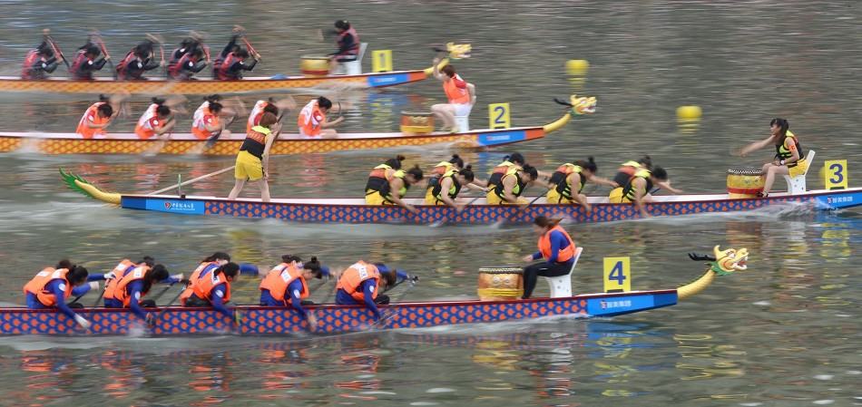Paddle dragon boat with spare parts (PS-IDBF22)
