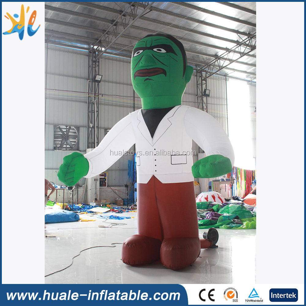 Best price inflatable giant monster cartoon, cartoon carnival for Halloween