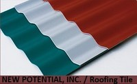 PVC Roofing Tile