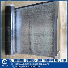 aluminum foil self adhesive modified asphalt waterproofing membrane for roof