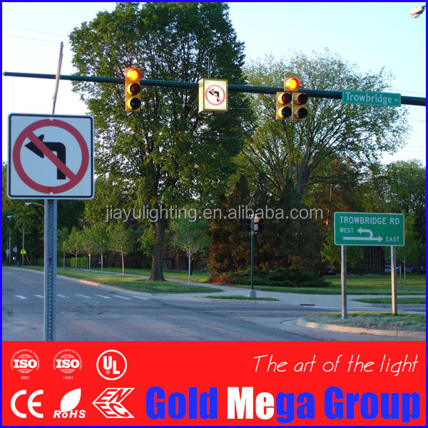 Traffic LED Pedestrian warning Road Signs/flashing warning signal traffic light