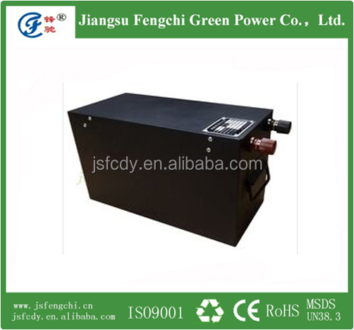 lifeo4 made in china li-ion polymer electric vehicle battery 24V 60AH for sale