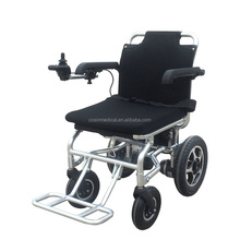 easy foldable outdoor electric lightweight aluminum power wheelchair for handicapped