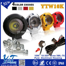 2015 NEW!10W LED Work Light For Motorcycle Off road ATV with one year warranty