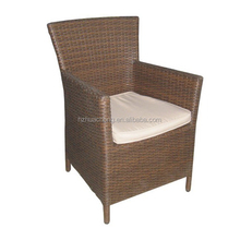 HC-J029-C modern china high back rattan chair with arms