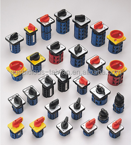 Cam Operated Rotary Switch 16A, 20A, 25A, 32A, 63A, 100A