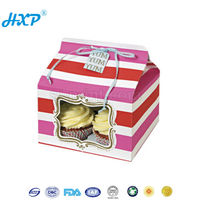 Paper box 2C 1-Layer SBB Offset frozen food cake box packaging