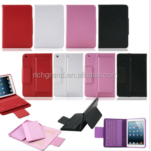 PU Leather Case for iPad mini and Wireless Bluetooth Keyboard