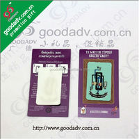 2014 Fashion OEM logo microfiber mobile screen stickers for dry cleaners