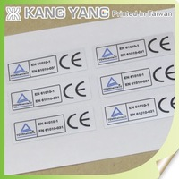 Waterproof sticker mirror coat paper self-adhesive sticker