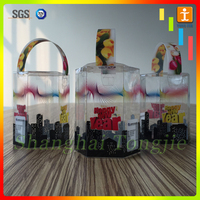 Custom plastic New year product packaging boxes, Christmas gift boxes