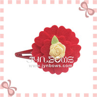 mini Rose Hairpin Hair snap for baby girl
