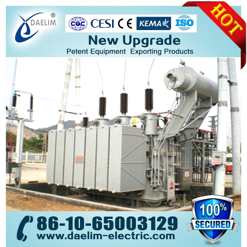 110KV 8000KVA Three-phase Two Winding Non-excitation-tap-changing Oil-immersed Transformer