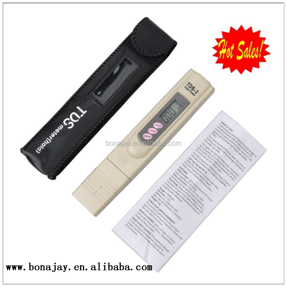 Digital water TDS meter tester