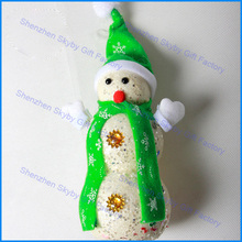 Ornament Bubble Lovely Christmas Snowman
