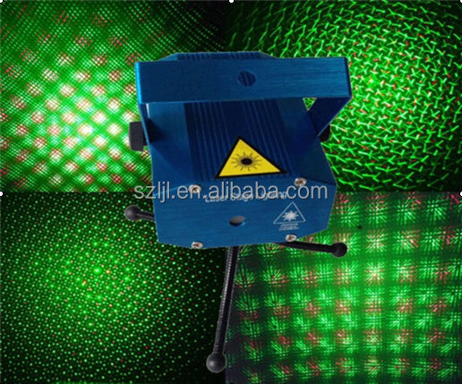 Red and Green color animation disco laser party light, DJ light, night club light