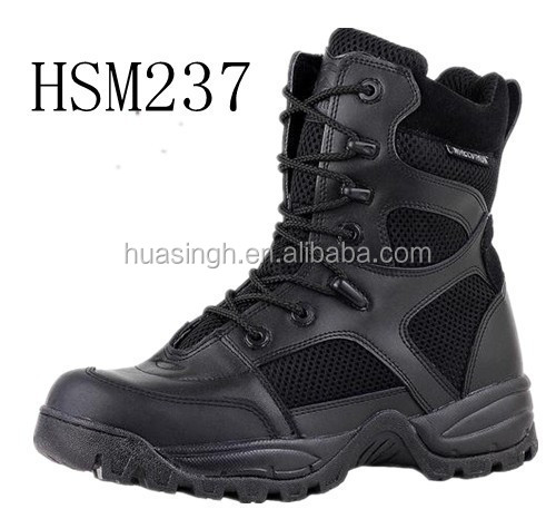 big mesh holes breathable summer design army training military boots