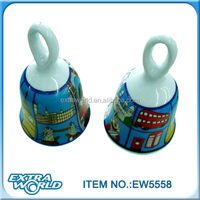 ceramic bell souvenirs from china wholesale