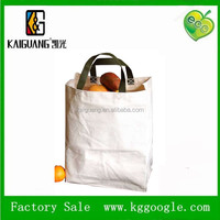 High quality plain heavy duty cotton canvas tote bag