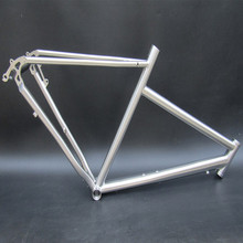 China manufacturer titanium gravel bike frame 27.5er with ISO9001 certificate for sale