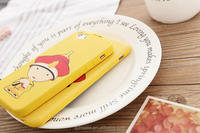 Eco-friendly silicone phone case/cute cartoon phone case for Iphone cellphone