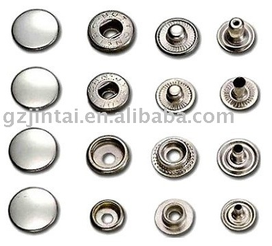 fashion style high quality metal snap button for bag clothes accessories