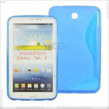 S Soft TPU Gel Cover Case For Samsung Galaxy Tab 3 7.0 Tablet P3200 P3210 P-SAMP3200TPU001